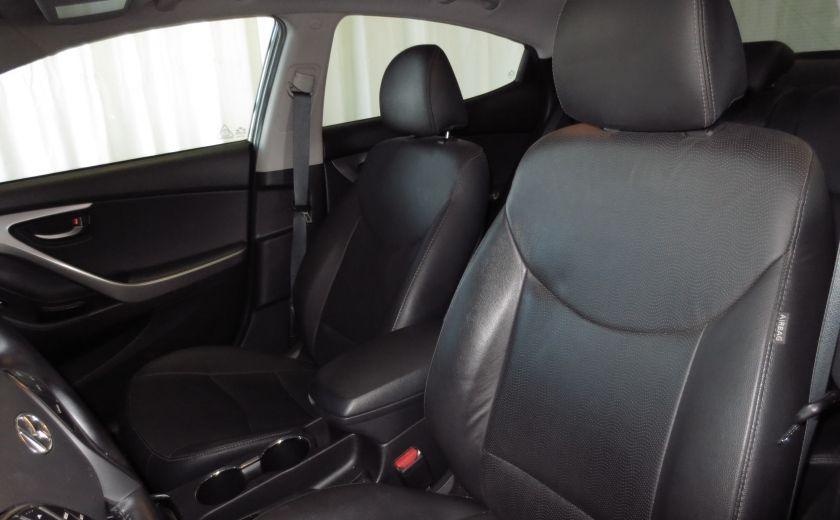 2013 Hyundai Elantra LIMITED CUIR TOIT NAVIGATION KIT DE SON(+DE 2000$) #10