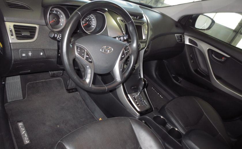2013 Hyundai Elantra LIMITED CUIR TOIT NAVIGATION KIT DE SON(+DE 2000$) #8