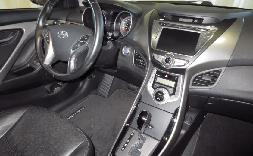 2013 Hyundai Elantra LIMITED CUIR TOIT NAVIGATION KIT DE SON(+DE 2000$) #23