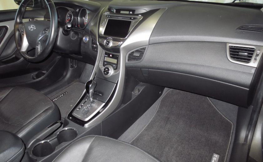 2013 Hyundai Elantra LIMITED CUIR TOIT NAVIGATION KIT DE SON(+DE 2000$) #22