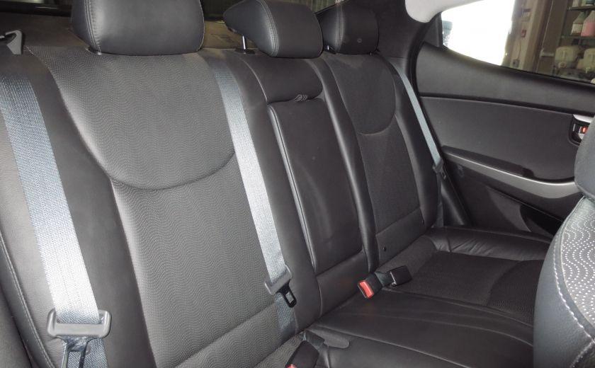 2013 Hyundai Elantra LIMITED CUIR TOIT NAVIGATION KIT DE SON(+DE 2000$) #21