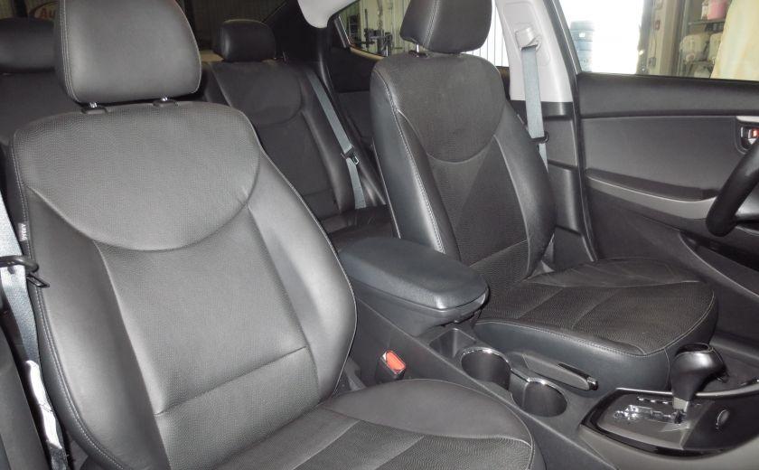 2013 Hyundai Elantra LIMITED CUIR TOIT NAVIGATION KIT DE SON(+DE 2000$) #24