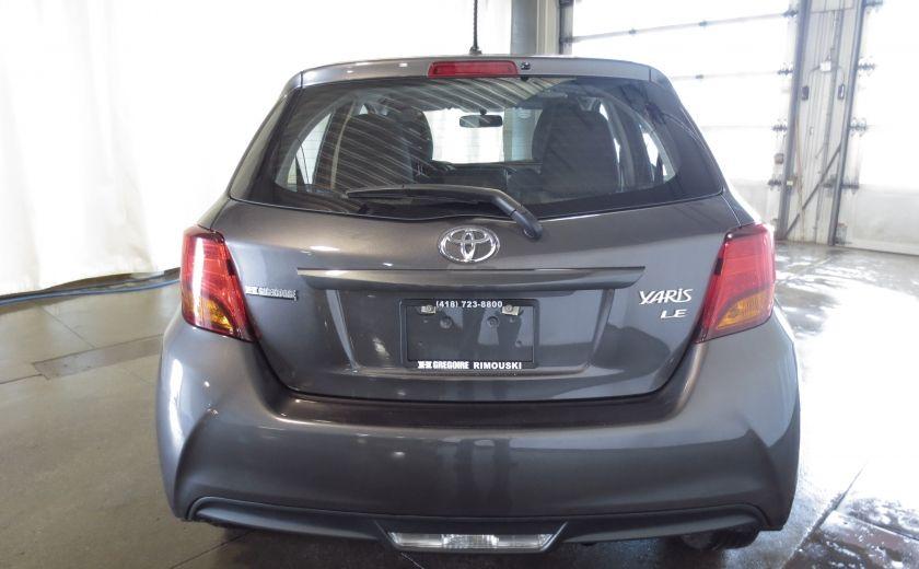 2015 Toyota Yaris LE H/B AUTO #5