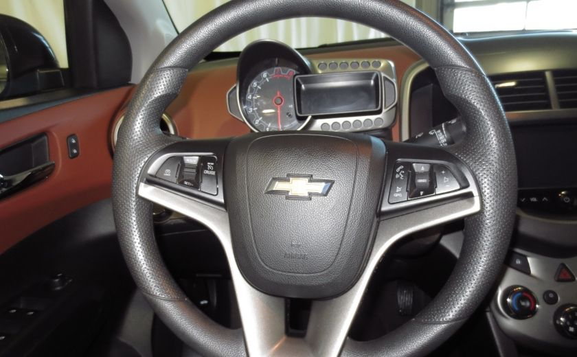 2015 Chevrolet Sonic LT AUTO A/C CAMÉRA BLUETOOTH #14
