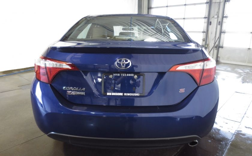 2015 Toyota Corolla S AUTO A/C TOIT OUVRANT  BLUETOOTH CAMÉRA DE RECUL #5