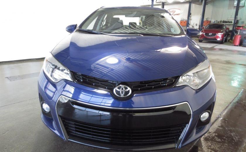 2015 Toyota Corolla S AUTO A/C TOIT OUVRANT  BLUETOOTH CAMÉRA DE RECUL #1