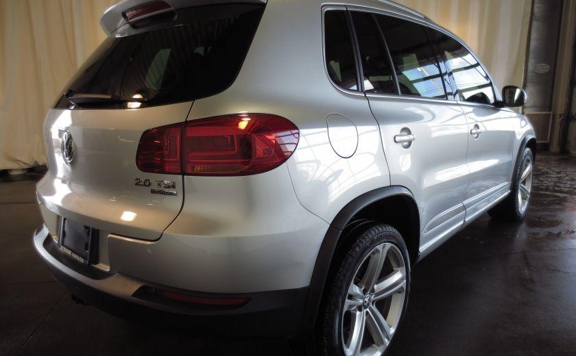 2014 Volkswagen Tiguan R-LINE 4MOTION 2.0T CUIR TOIT #6