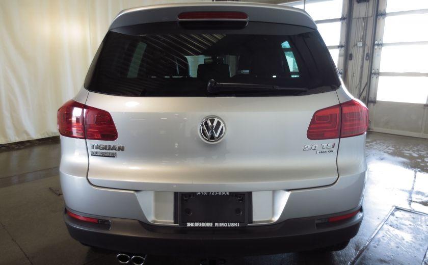 2014 Volkswagen Tiguan R-LINE 4MOTION 2.0T CUIR TOIT #5
