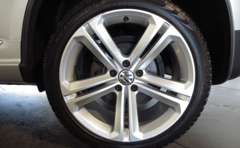 2014 Volkswagen Tiguan R-LINE 4MOTION 2.0T CUIR TOIT #38