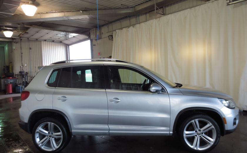 2014 Volkswagen Tiguan R-LINE 4MOTION 2.0T CUIR TOIT #7