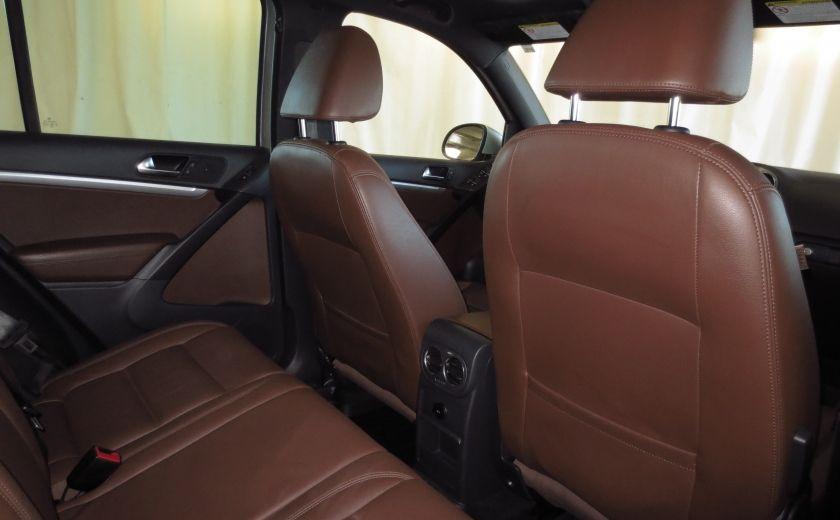 2014 Volkswagen Tiguan R-LINE 4MOTION 2.0T CUIR TOIT #20