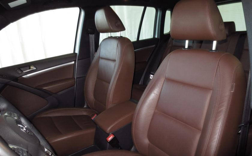 2014 Volkswagen Tiguan R-LINE 4MOTION 2.0T CUIR TOIT #10