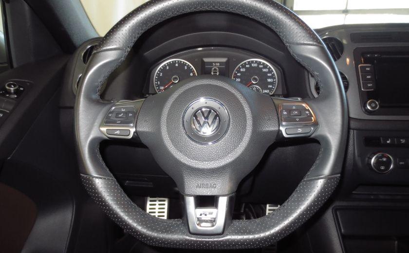 2014 Volkswagen Tiguan R-LINE 4MOTION 2.0T CUIR TOIT #15