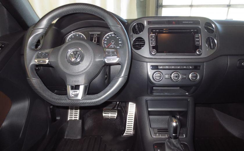 2014 Volkswagen Tiguan R-LINE 4MOTION 2.0T CUIR TOIT #14