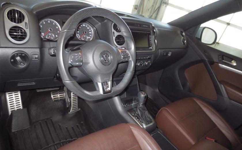 2014 Volkswagen Tiguan R-LINE 4MOTION 2.0T CUIR TOIT #8