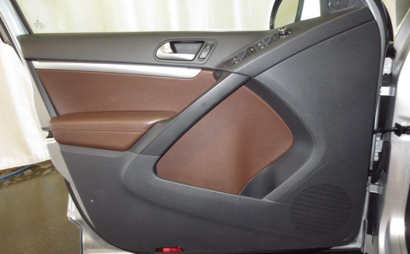 2014 Volkswagen Tiguan R-LINE 4MOTION 2.0T CUIR TOIT #11