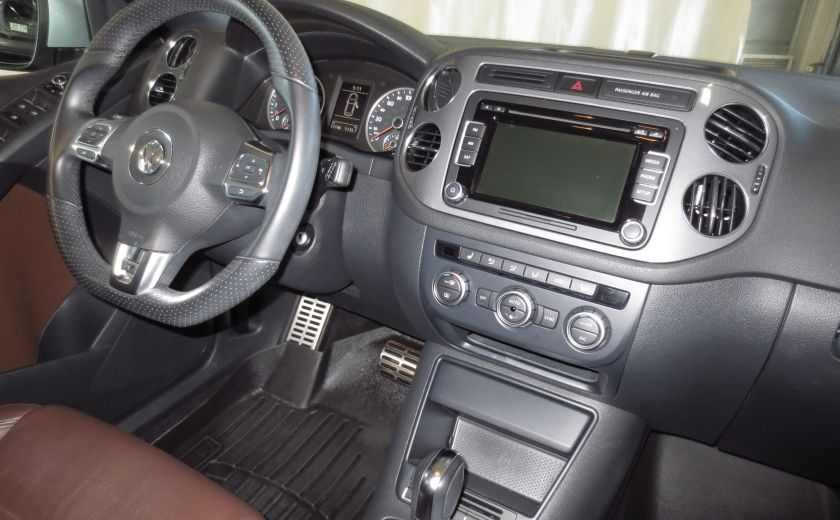 2014 Volkswagen Tiguan R-LINE 4MOTION 2.0T CUIR TOIT #23
