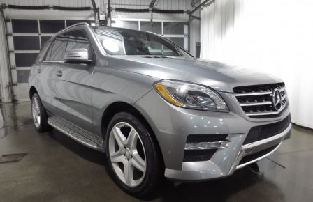 2013 Mercedes Benz ML350  BlueTEC 4MATIC ROUES AMG NAVI CUIR TOIT in Sherbrooke