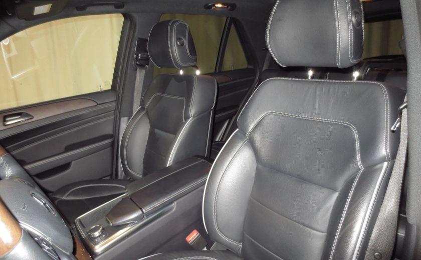2013 Mercedes Benz ML350  BlueTEC 4MATIC ROUES AMG NAVI CUIR TOIT #11