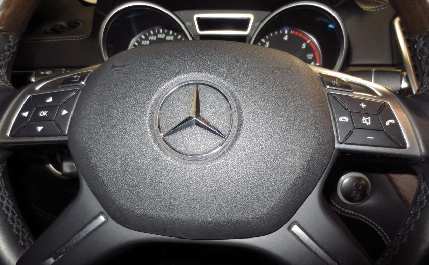 2013 Mercedes Benz ML350  BlueTEC 4MATIC ROUES AMG NAVI CUIR TOIT #20
