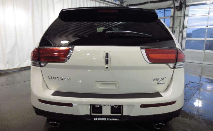 2013 Lincoln MKX AWD CUIR TOIT NAVI 3.7L ROUES 20'' #5