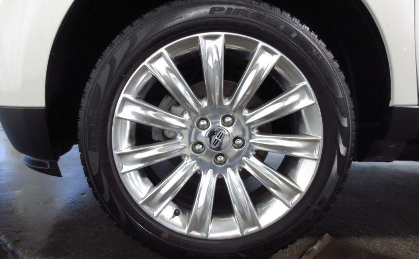 2013 Lincoln MKX AWD CUIR TOIT NAVI 3.7L ROUES 20'' #27