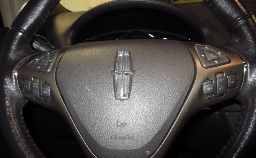 2013 Lincoln MKX AWD CUIR TOIT NAVI 3.7L ROUES 20'' #19