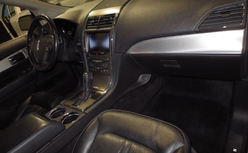 2013 Lincoln MKX AWD CUIR TOIT NAVI 3.7L ROUES 20'' #12
