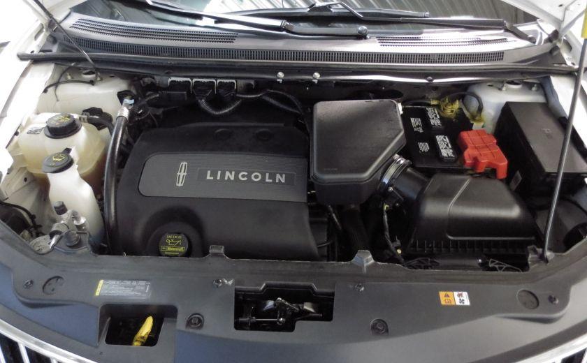 2013 Lincoln MKX AWD CUIR TOIT NAVI 3.7L ROUES 20'' #26