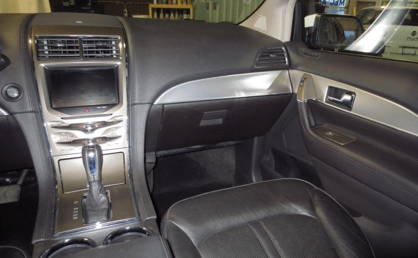 2013 Lincoln MKX AWD CUIR TOIT NAVI 3.7L ROUES 20'' #16