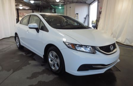 2015 Honda Civic LX AUTO A/C SIEGES CHAUFFANTS BLUETOOTH in Sept-Îles
