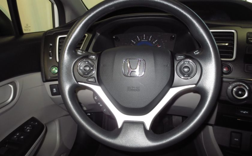 2015 Honda Civic LX AUTO A/C SIEGES CHAUFFANTS BLUETOOTH #14