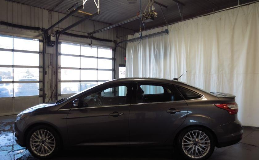2014 Ford Focus Titanium AUTO CUIR TOIT NAVI CAMÉRA BLUETOOTH #4