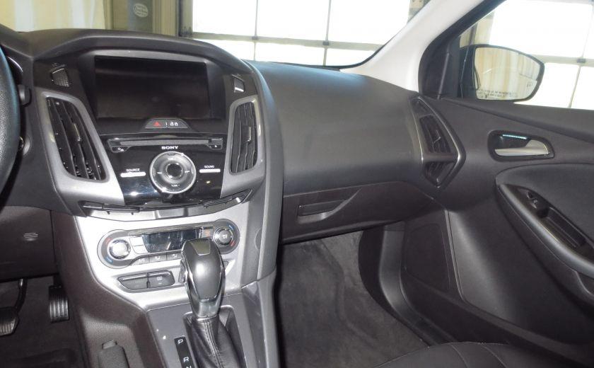 2014 Ford Focus Titanium AUTO CUIR TOIT NAVI CAMÉRA BLUETOOTH #12