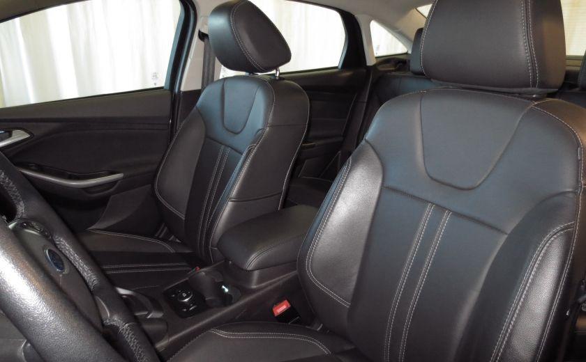 2014 Ford Focus Titanium AUTO CUIR TOIT NAVI CAMÉRA BLUETOOTH #16