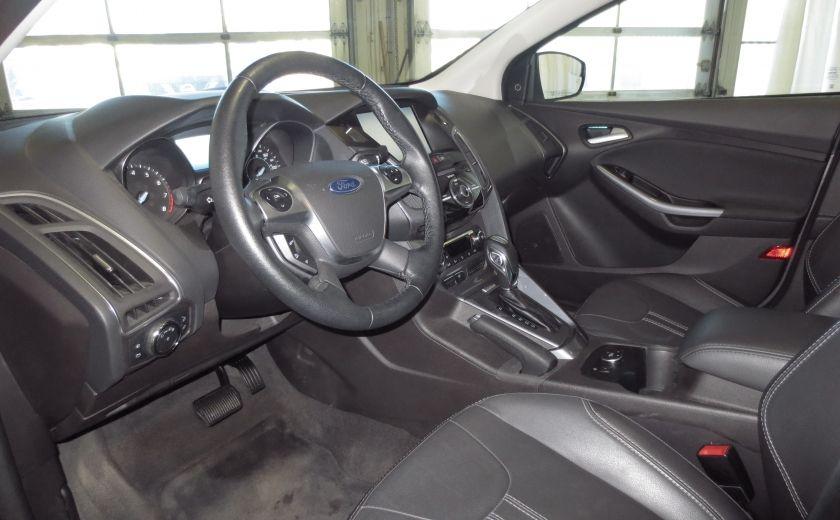 2014 Ford Focus Titanium AUTO CUIR TOIT NAVI CAMÉRA BLUETOOTH #10