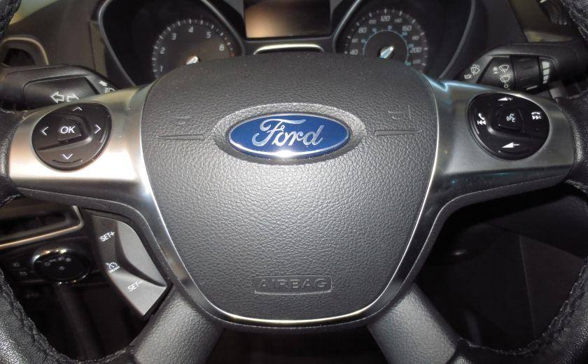 2014 Ford Focus Titanium AUTO CUIR TOIT NAVI CAMÉRA BLUETOOTH #15