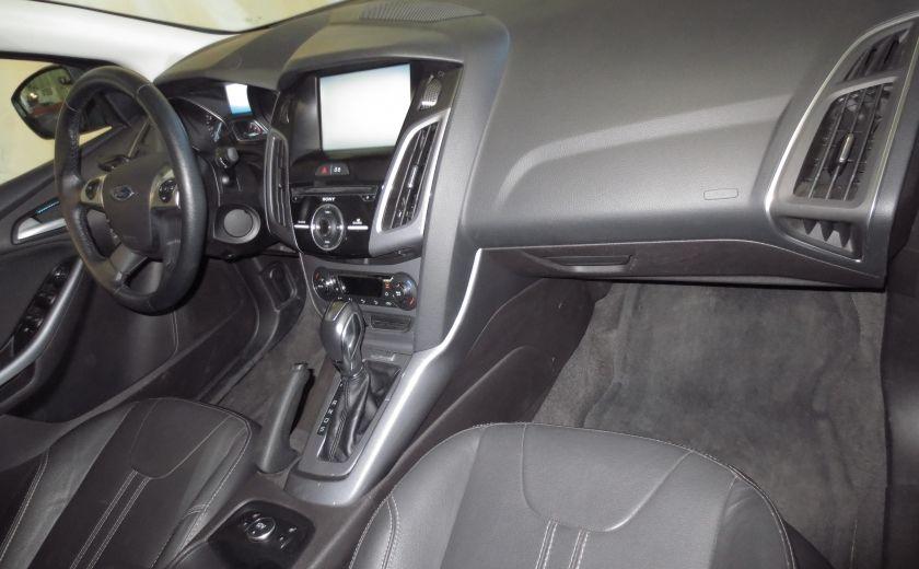 2014 Ford Focus Titanium AUTO CUIR TOIT NAVI CAMÉRA BLUETOOTH #24