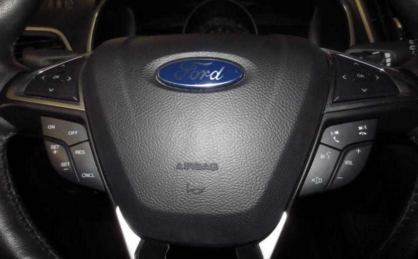 2015 Ford EDGE SEL AWD CAMÉRA DE RECUL SIEGES CHAUFFANTS BLUETOOT #19