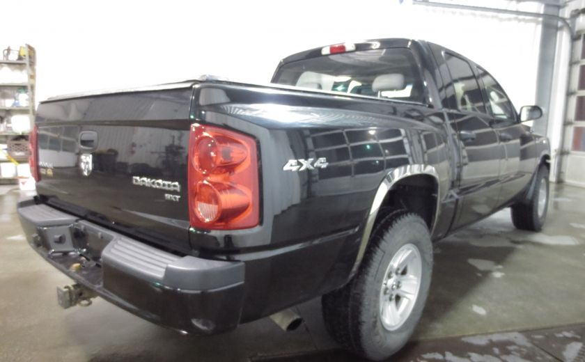 2011 Dodge Dakota SXT CREW CAB 4WD V8 4.7L #6