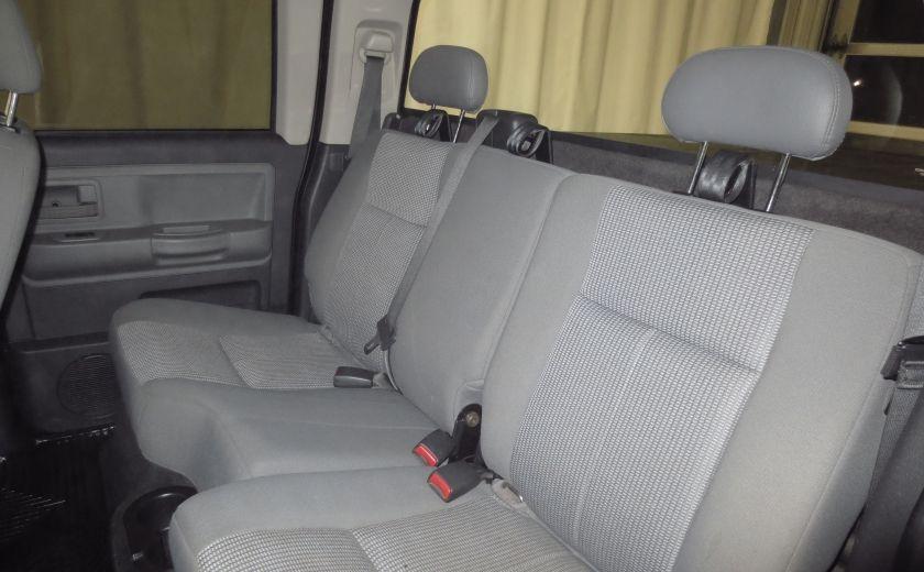 2011 Dodge Dakota SXT CREW CAB 4WD V8 4.7L #11