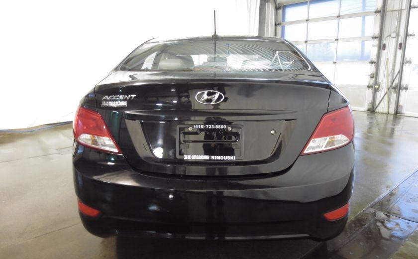 2015 Hyundai Accent GL AUTO A/C BLUETOOTH SIEGES CHAUFFANTS #5