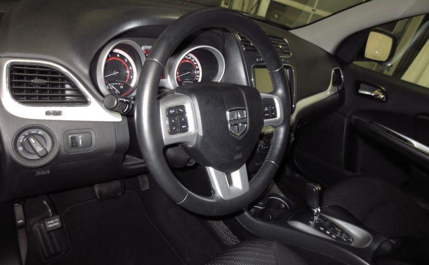 2013 Dodge Journey SXT UCONNECT BLUETOOTH ROUES 19'' BLACK TOP #8