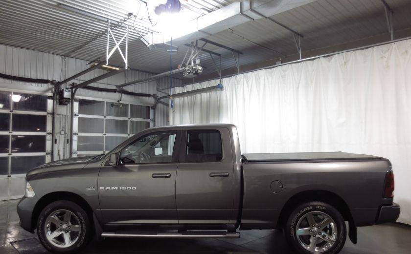 2012 Ram 1500 Sport 4WD QUAD CAB ROUES 20'' COUVERT DE BOITE #3