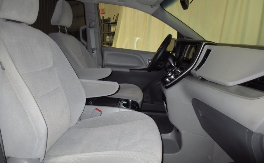 2016 Toyota Sienna LE V6 3.5L 8PASSAGERS CAMÉRA  BLUETOOTH MAGS #14