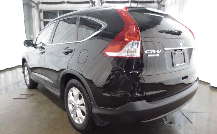 2013 Honda CRV EX-L AWD CUIR TOIT CAMÉRA BLUETOOTH #4