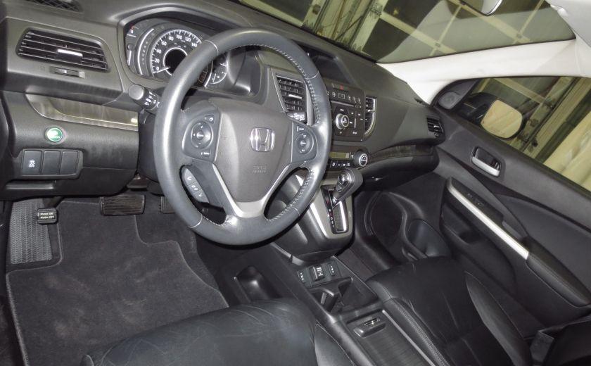 2013 Honda CRV EX-L AWD CUIR TOIT CAMÉRA BLUETOOTH #8