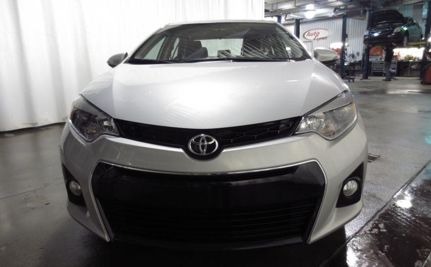 2016 Toyota Corolla S AUTO TOIT  CAMÉRA SIEGES CHAUFFANTS BLUETOOTH #1