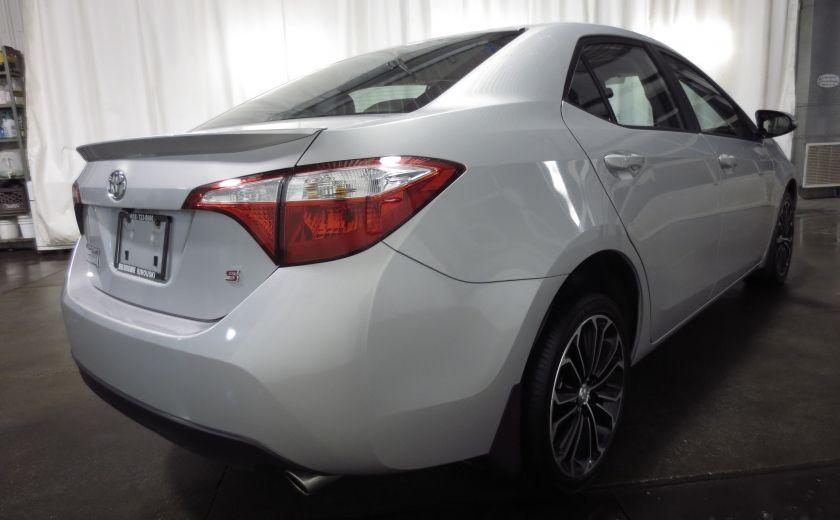 2016 Toyota Corolla S AUTO TOIT  CAMÉRA SIEGES CHAUFFANTS BLUETOOTH #6