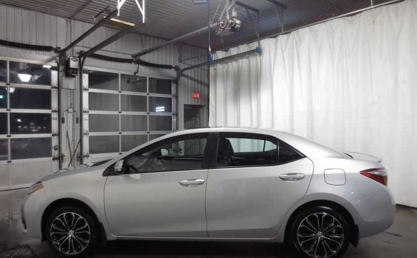 2016 Toyota Corolla S AUTO TOIT  CAMÉRA SIEGES CHAUFFANTS BLUETOOTH #3